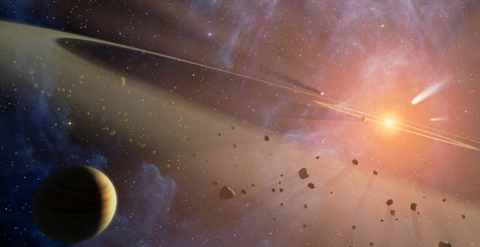 Origen y formación del Sistema Solar